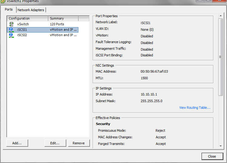 Promiscuous Mode Vmware